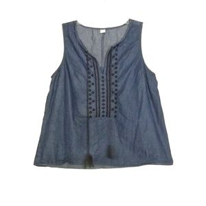 🎃 Denim Style Tank Top From Old Navy